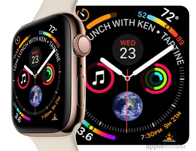 Apple Watch Series 4将提40毫米以及44毫米的版本